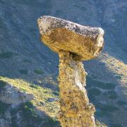 Алтай. Каменные грибы.