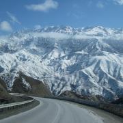 Дорога север-юг Кыргызстана
