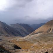 Дорога на горячий источник. Тянь-Шань