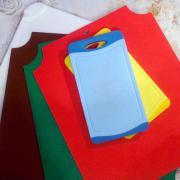 Доски для пищевой промышленности разных цветов